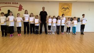 Kindertraining wing chun
