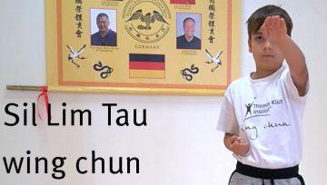 wing chun Siu Nim Tao